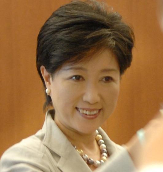 東京都知事・小池百合子お化粧おばあちゃんの顔はもう見たくない・・