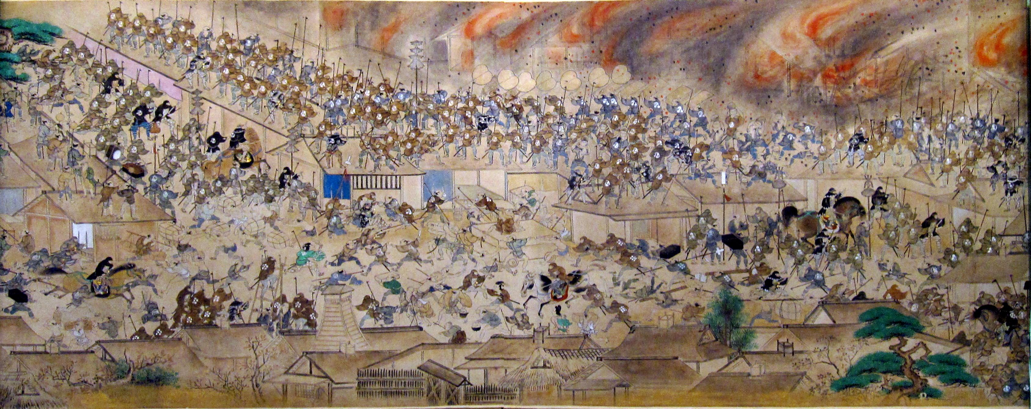江戸時代の消防隊「火消」の破壊任務が興味深い