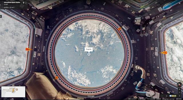 【ツアー】国際宇宙ステーションの中をストリートビューで探索してみよう!!